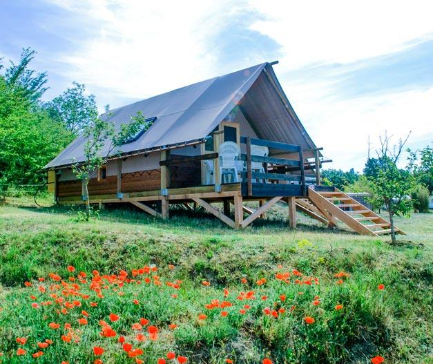 location cabane trappeur verdon