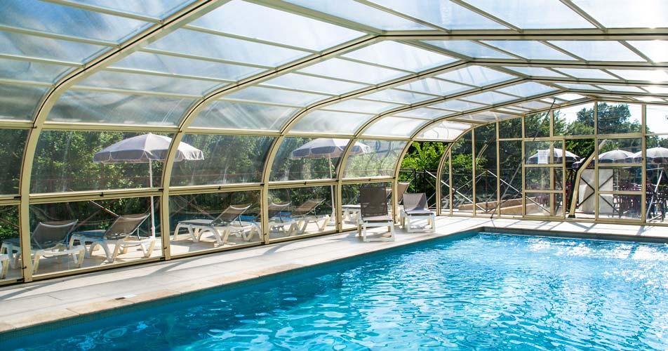 services piscine chauffée camping verdon